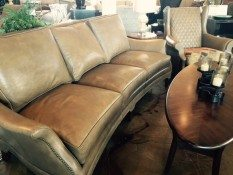 Grolls Furniture of Easton Leather Sofa